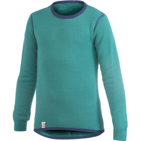 Woolpower 200 Crewneck Kinder turtle green